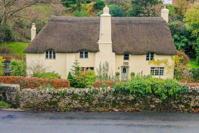 Thumbnail Cottage for sale in Church End Road, Kingskerswell, Newton Abbot