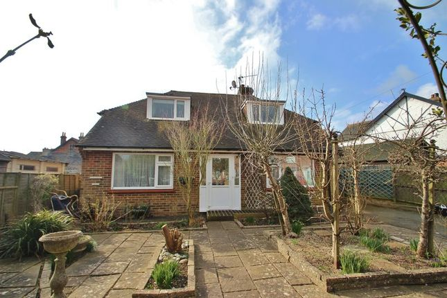 Thumbnail Detached bungalow for sale in Western Road, Sparrows Green, Wadhurst