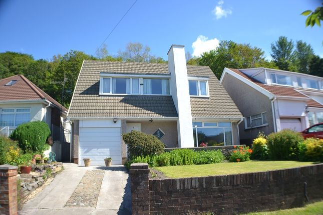Thumbnail Detached house for sale in Maes Rhedyn, Baglan, Port Talbot, Neath Port Talbot.
