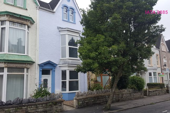 Thumbnail End terrace house to rent in St. Helens Avenue, Swansea