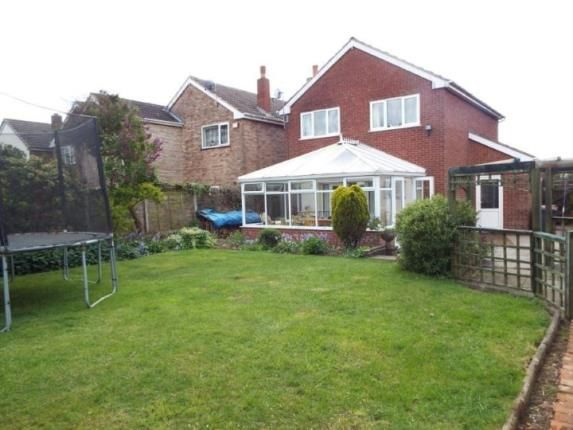 Thumbnail Detached house for sale in Tamworth Road, Wood End, Atherstone, Warwickshire