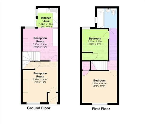 Floor Plan of King Street, Millom LA18