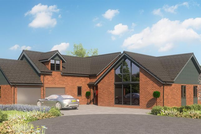 Thumbnail Detached house for sale in Bartles Wood, Curr Lane, Upper Bentley, Redditch