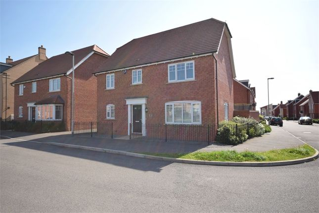 Thumbnail Detached house for sale in Maxwell Crescent, Duston, Northampton