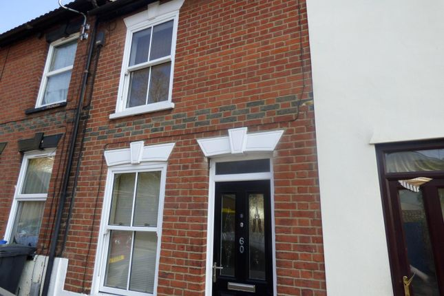Thumbnail Terraced house to rent in Newson Street, Ipswich