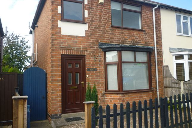 Thumbnail Semi-detached house to rent in Myrtle Avenue, Stapleford, Nottingham