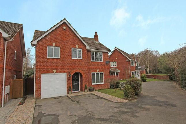 Thumbnail Detached house for sale in Singleton Way, Totton, Southampton
