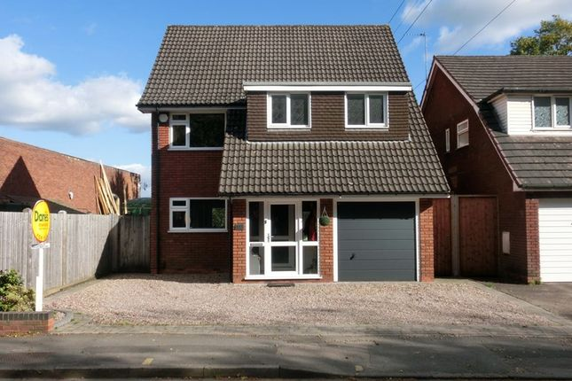 Thumbnail Detached house for sale in Alcester Road, Wythall, Birmingham