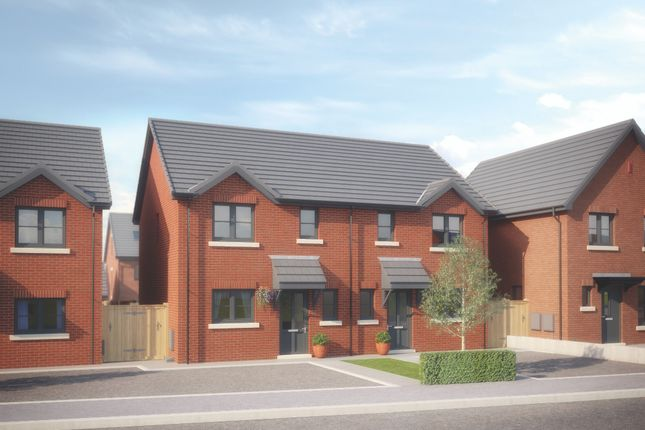 Thumbnail Semi-detached house for sale in Wigan Road, Clayton Le Wood Leyland, Lancashire