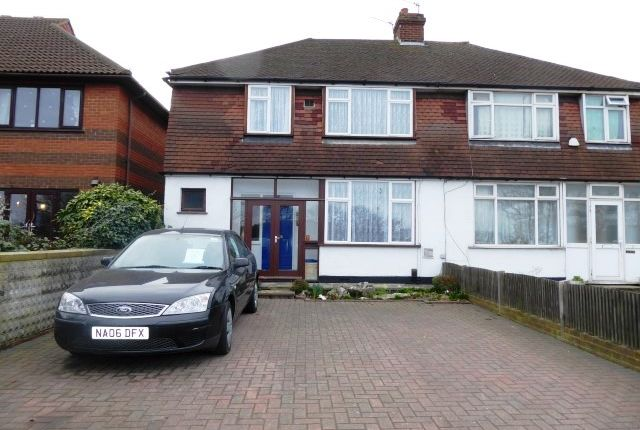 Thumbnail Semi-detached house for sale in Hook Rise South, Chessington