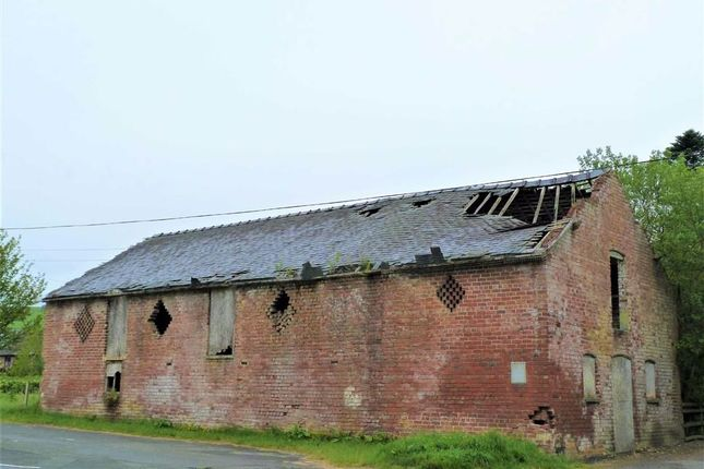 Thumbnail Barn conversion for sale in Pant-Y-Dwr, Rhayader