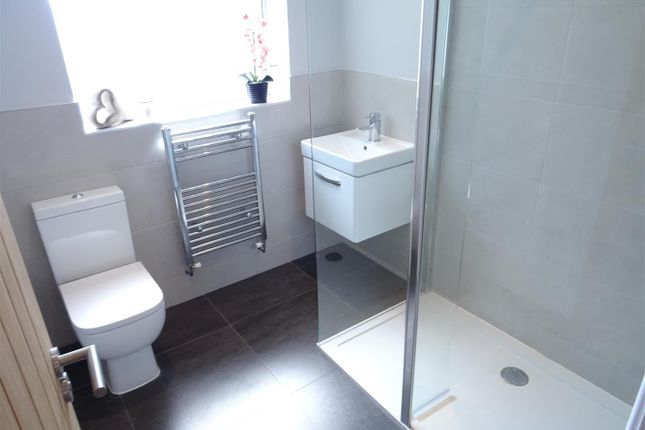 Shower Room of Manor Road, Heather, Leicestershire LE67