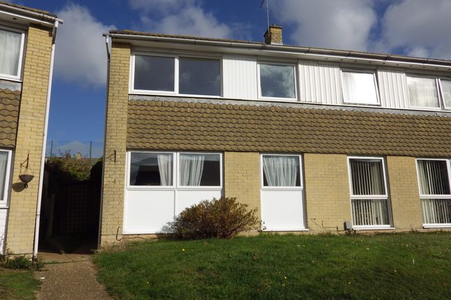 Thumbnail End terrace house to rent in Hythe Close, Folkestone