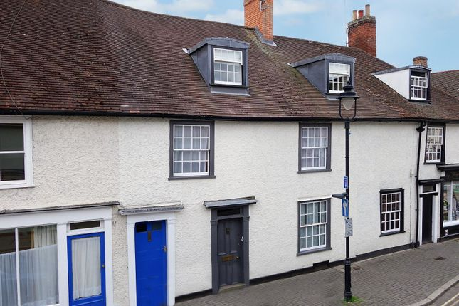 Thumbnail Terraced house for sale in Churchgate Street, Bury St. Edmunds