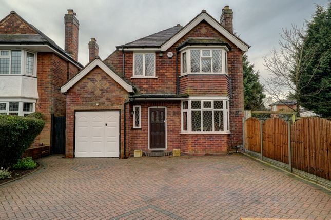 Thumbnail Detached house for sale in Pinfold Road, Solihull