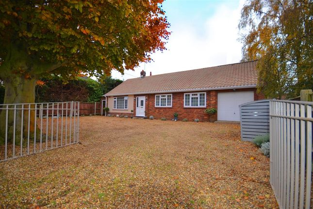 Thumbnail Bungalow for sale in Norwich Road, Strumpshaw, Norwich