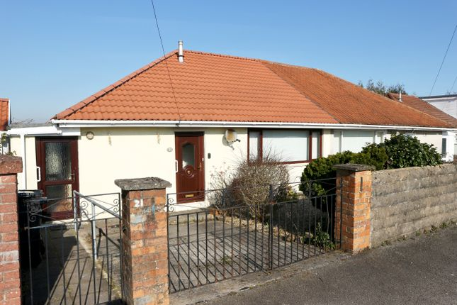 Thumbnail Semi-detached bungalow for sale in Vernon Close, Penyard, Merthyr Tydfil