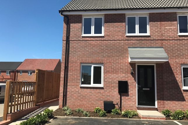 Thumbnail Semi-detached house to rent in The Hardstaff Homes, Priory Road, Mansfield Woodhouse, Mansfield