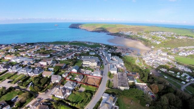 Thumbnail Property for sale in Building Plots At Polzeath, Dunders Hill, Polzeath