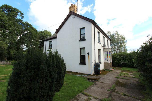 Thumbnail Detached house for sale in Pentrecwrt, Llandysul
