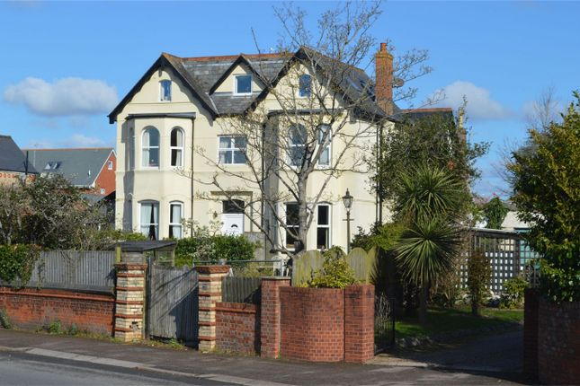 Thumbnail Maisonette for sale in Salterton Road, Exmouth, Devon