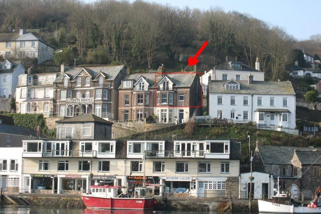 Thumbnail Maisonette to rent in Whitlieburn, Hannafore Road, Looe, Cornwall