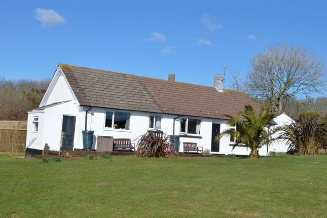 Thumbnail Detached bungalow for sale in Tresowes, Ashton, Helston