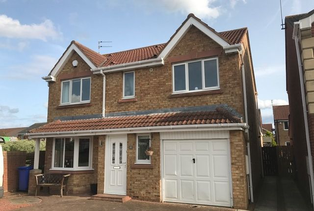 Thumbnail Detached house for sale in Dewberry Close, Blyth