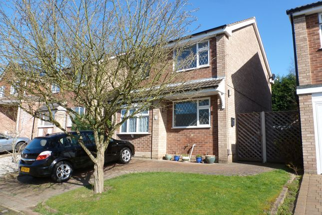 Thumbnail Detached house for sale in Bosworth Drive, Newthorpe, Nottingham