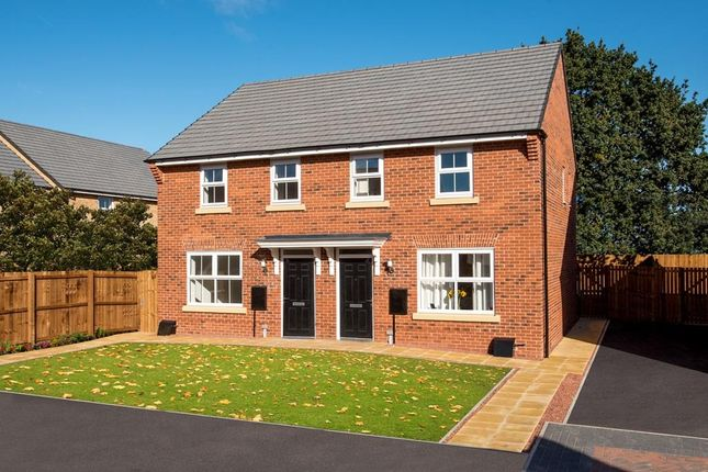 "Thumbnail Semi-detached house for sale in ""Archford"" at Bridlington Road, Stamford Bridge, York"