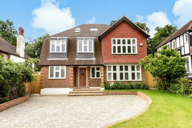 Thumbnail Detached house to rent in Barons Hurst, Epsom, Surrey