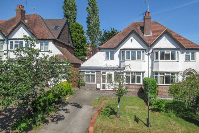 Thumbnail Semi-detached house for sale in Fellows Lane, Harborne, Birmingham