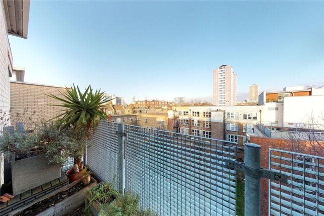 Balcony of Seward Street, London EC1V
