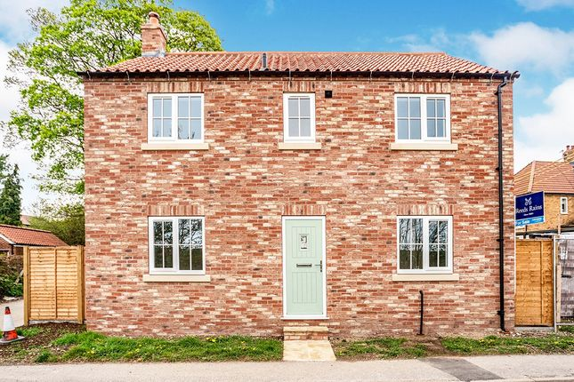Thumbnail Detached house for sale in East Bank, Weaverthorpe, Malton, North Yorkshire