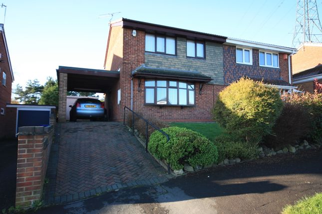 Thumbnail Semi-detached house for sale in Greenmoor Avenue, Wedgwood Farm, Stoke-On-Trent