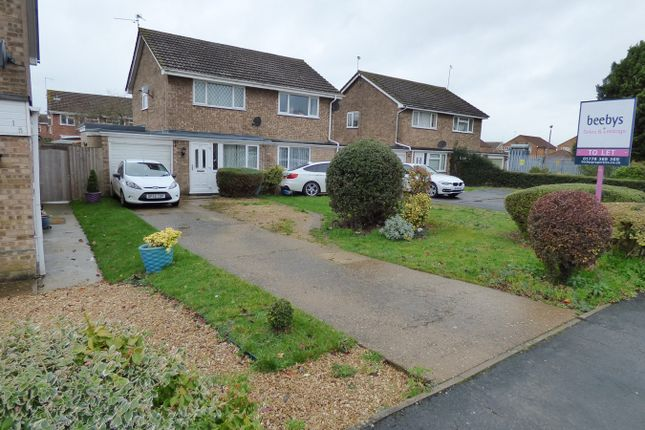 Thumbnail Semi-detached house to rent in The Lees, Deeping St James, Peterborough