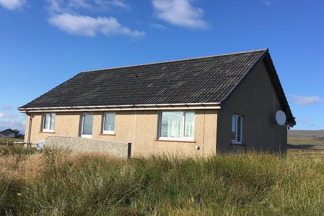 Thumbnail Detached bungalow for sale in 6 Locheynort, Isle Of South Uist