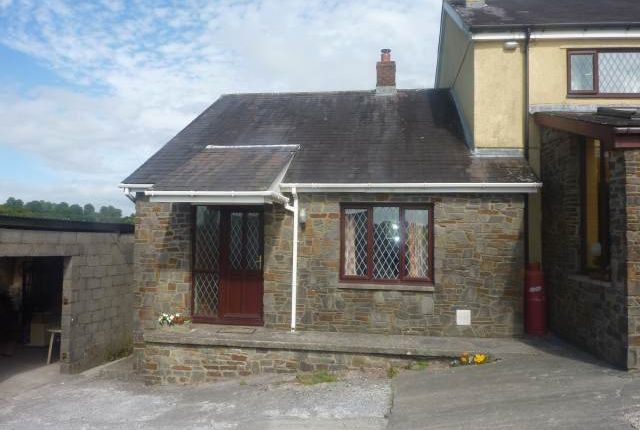 Thumbnail Semi-detached bungalow to rent in Llanddarog Road, Llanddarog, Carmarthen