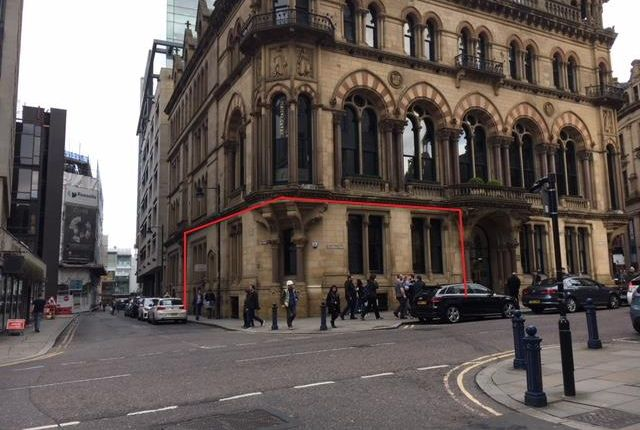 Thumbnail Retail premises to let in Manchester Club, 81 King Street, Manchester