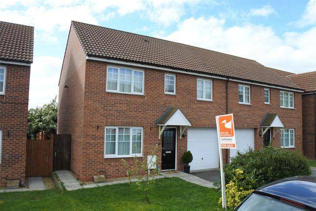 Thumbnail Semi-detached house for sale in Warmington Avenue, Grantham