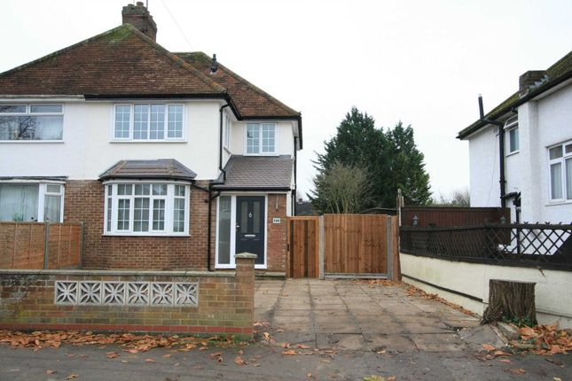 Thumbnail Semi-detached house to rent in Cambridge Road, Hitchin