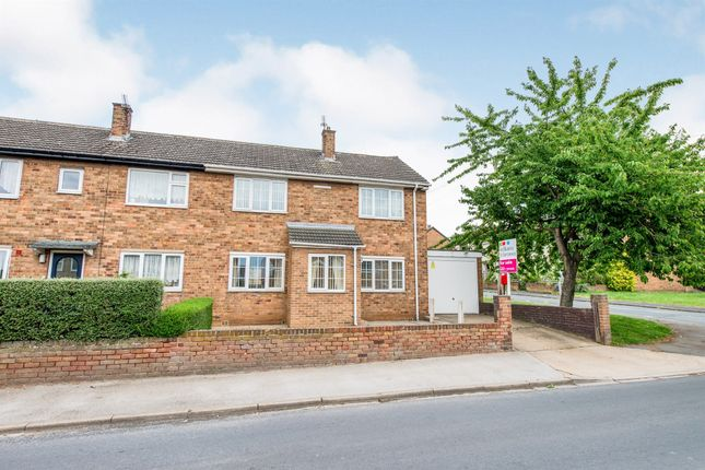 3 bed end terrace house for sale in Cotterill Road, Knottingley WF11