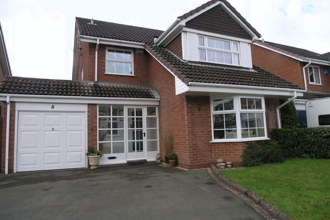 Thumbnail Detached house for sale in Stanford Grove, Hayley Green, Halesowen