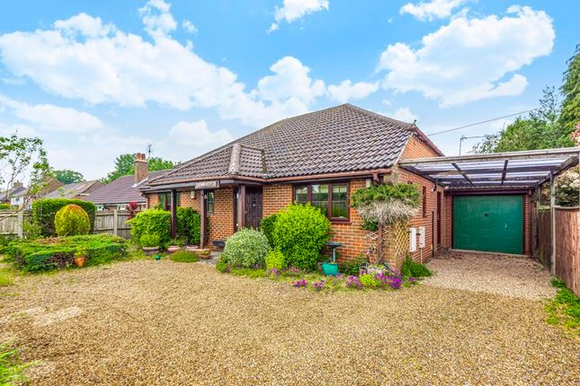 Thumbnail Detached bungalow for sale in Beaumont Way, Hazlemere, High Wycombe