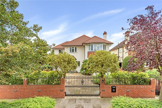 Thumbnail Detached house for sale in Sheen Common Drive, Richmond, Surrey