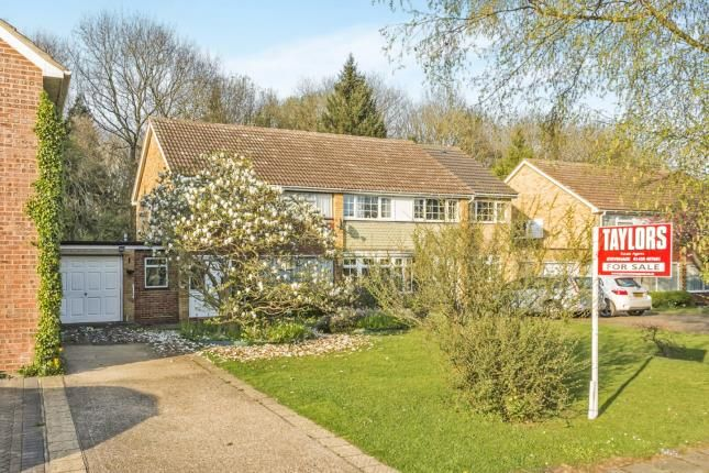 Thumbnail Semi-detached house for sale in Taywood Close, Stevenage, Hertfordshire, England