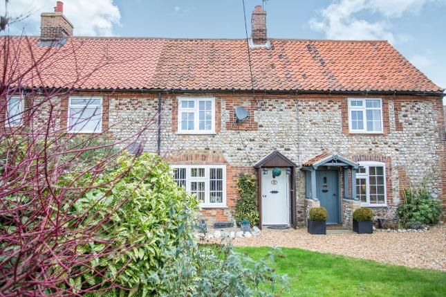 Thumbnail Terraced house for sale in Mission Lane, Docking, King's Lynn