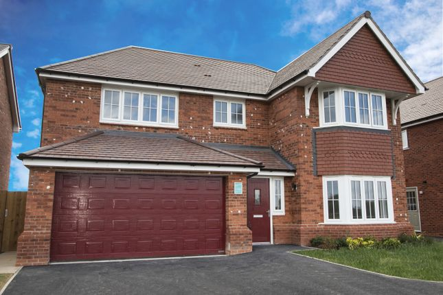 Thumbnail Detached house for sale in Middlewhich Road, Sandbach, Cheshire