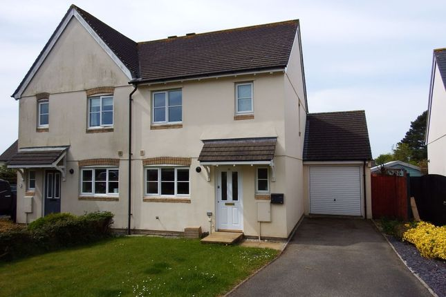 Thumbnail Property to rent in Rowan Close, Bodmin