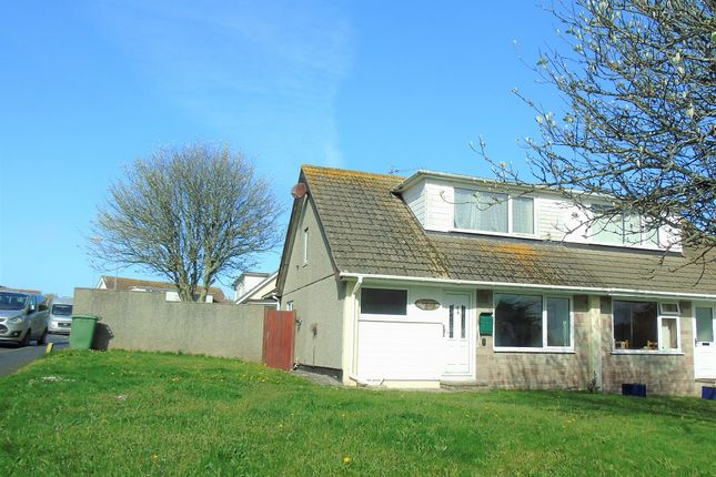 Thumbnail Semi-detached bungalow for sale in Forbes Road, Newlyn, Penzance, Cornwall.